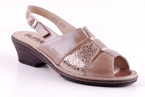 Suave Sandaletter Peach/Copper