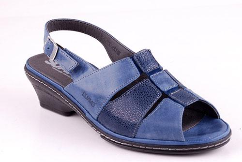 Suave sandaletter Jeansblå