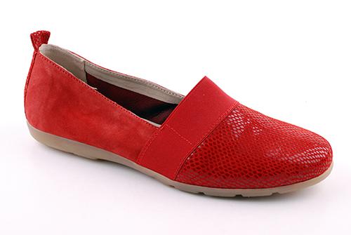 Caprice Loafers Röd