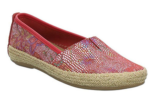 Jana Loafer Red Flower