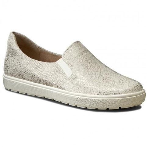 Dam Loafers Reptilmönstrat Läder