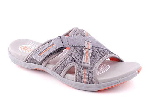Green Comfort Sportsandal Grey