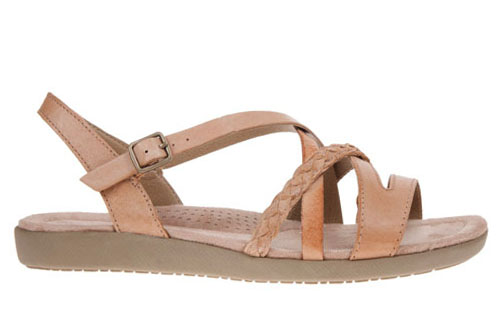 Earth Spirit Wyatt Sandal Honey